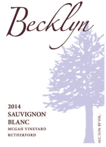 Custom wine label - Napa